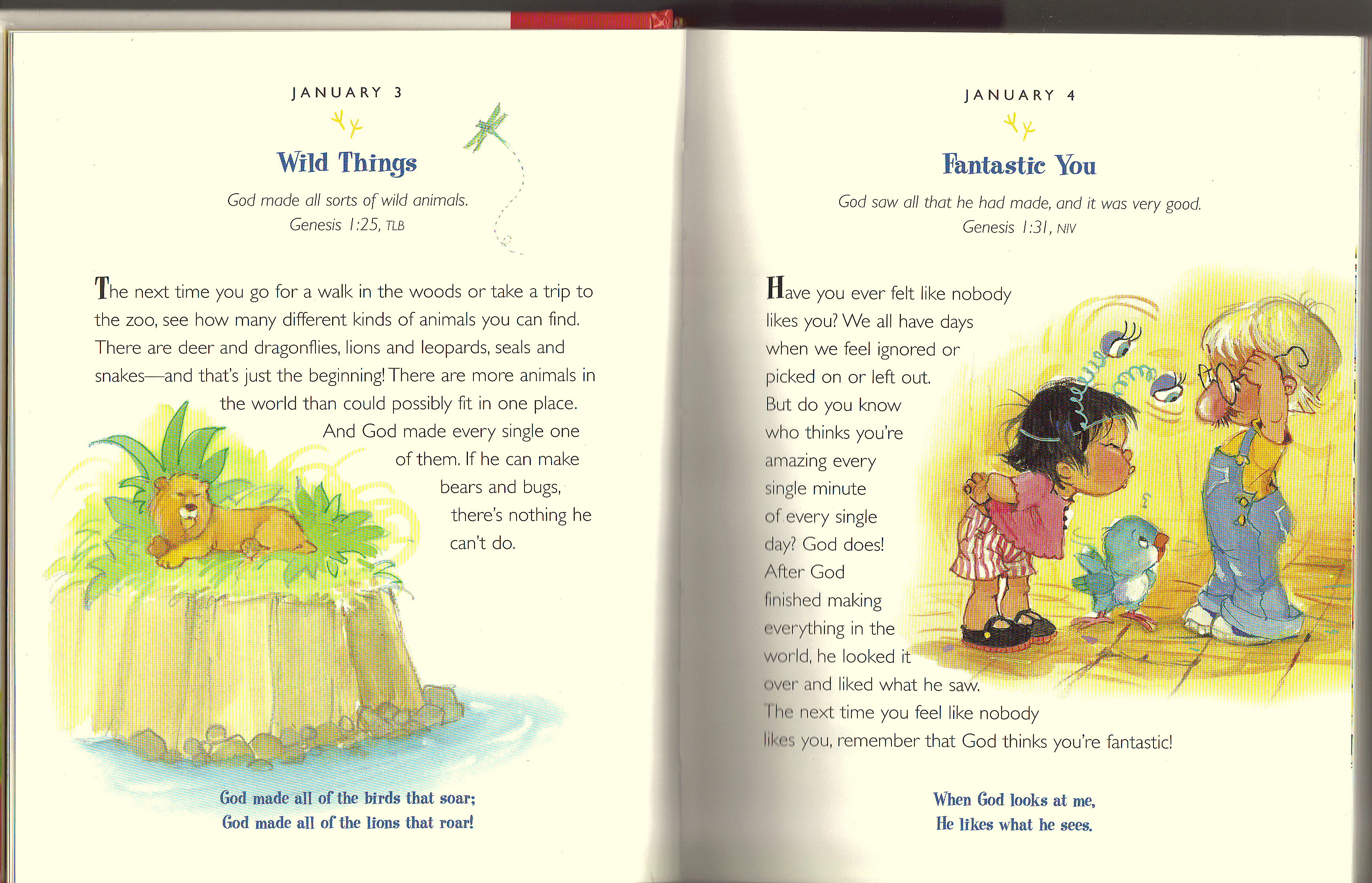 The One Year Devotions for PreSchoolers 2